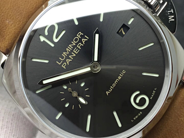Replica Luminor Panerai Grey Dial