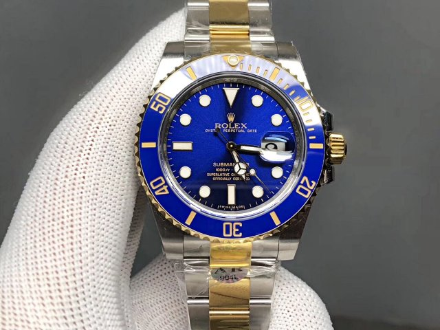 Replica Rolex Submariner Blue Ceramic