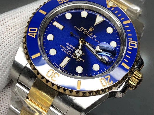Replica Rolex Submariner Blue Dial